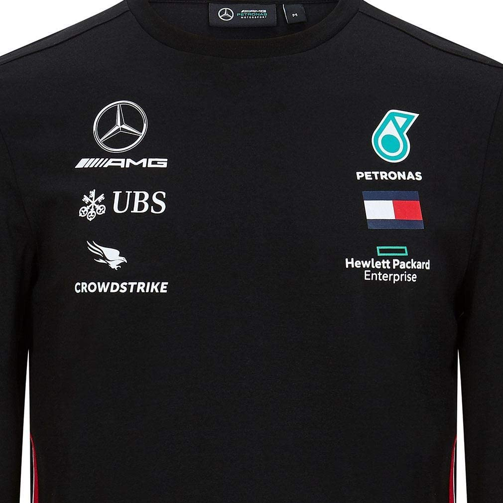 Mercedes-AMG Petronas T-Shirt Manche Longue Motorsport Team F1 Formula Driver