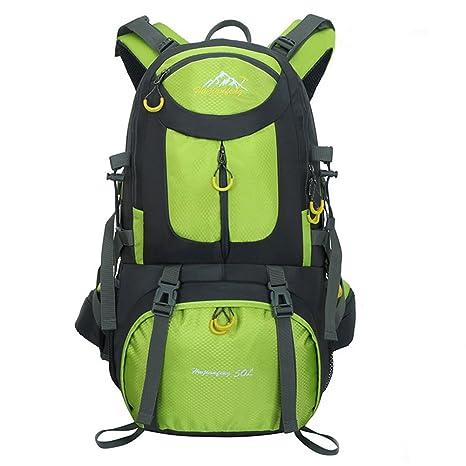 b44af509a1af Hiking Backpack 50L Extra Large Lightweight Foldable Outdoor Camping Travel Waterproof  nylon Backpack  Rucksack