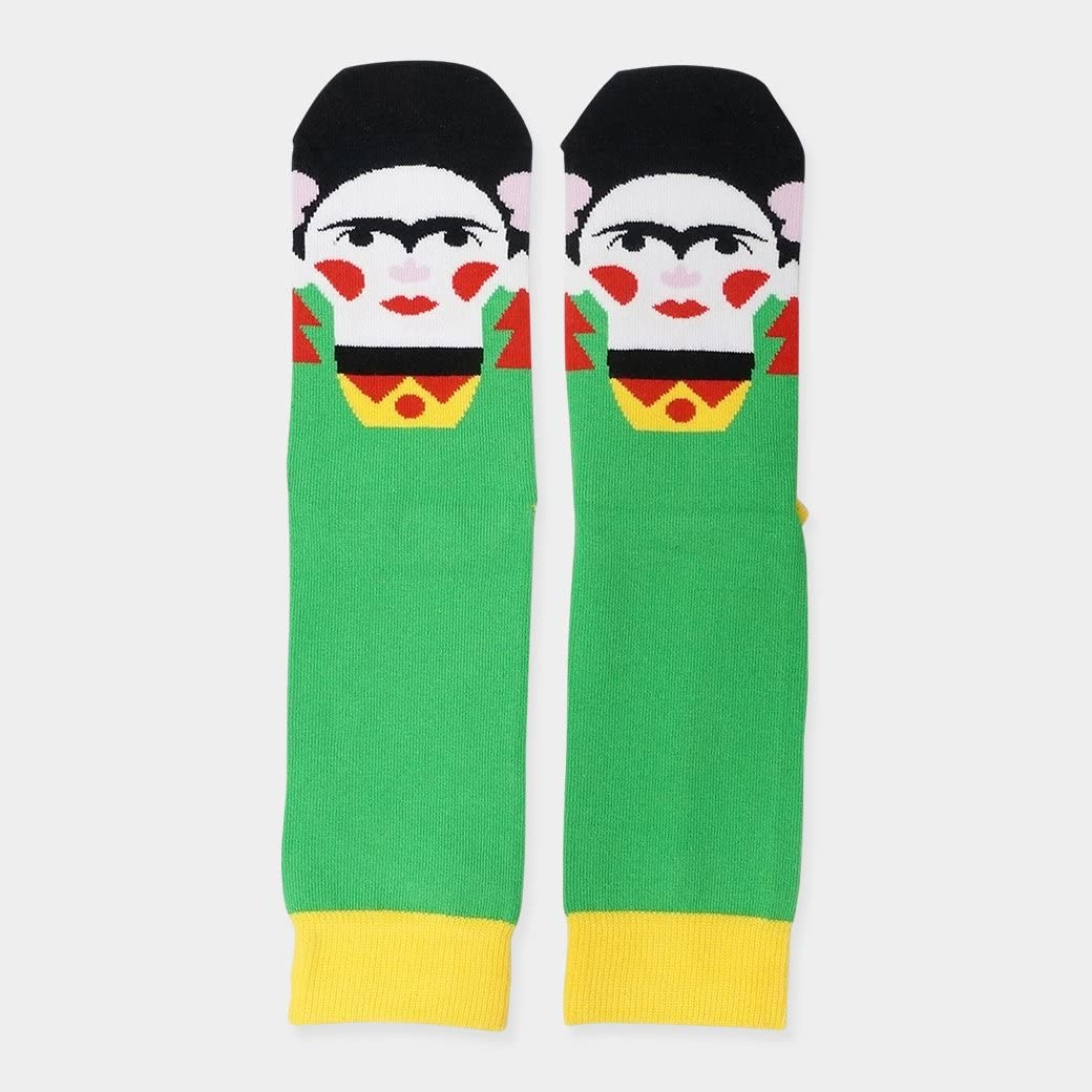 Calcetines Chatty Feet Frida Kahlo L: Amazon.es: Juguetes y juegos
