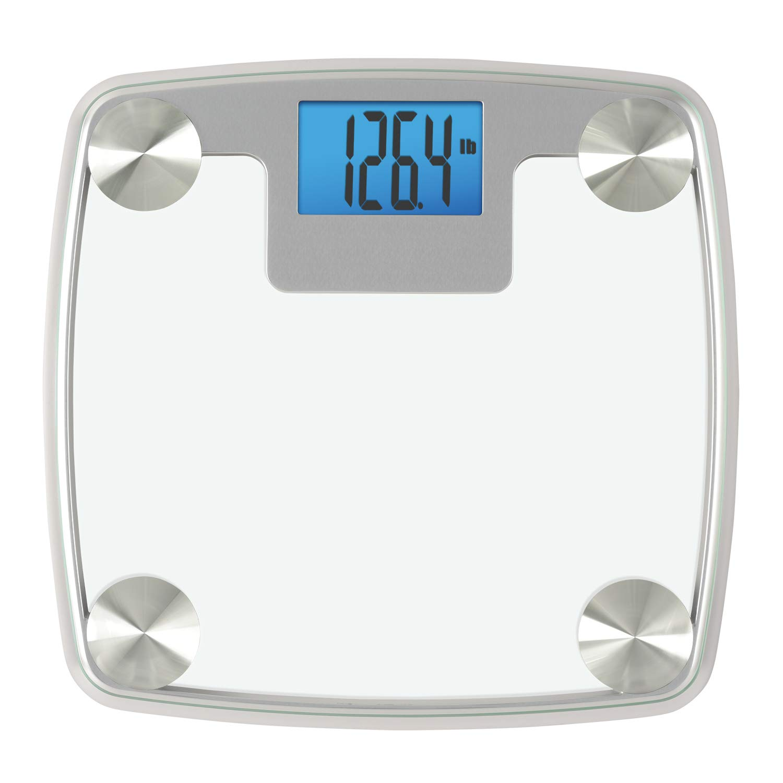 InstaTrack Digital Bathroom Scale, Silver