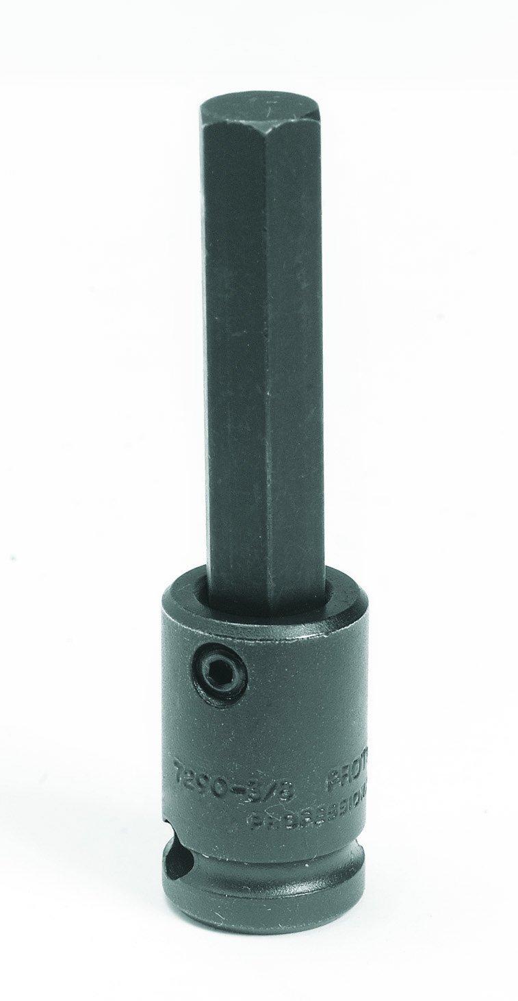 Stanley Proto J72901/4 3/8-Inch Drive Hex Bit Impact Socket, 1/4-Inch