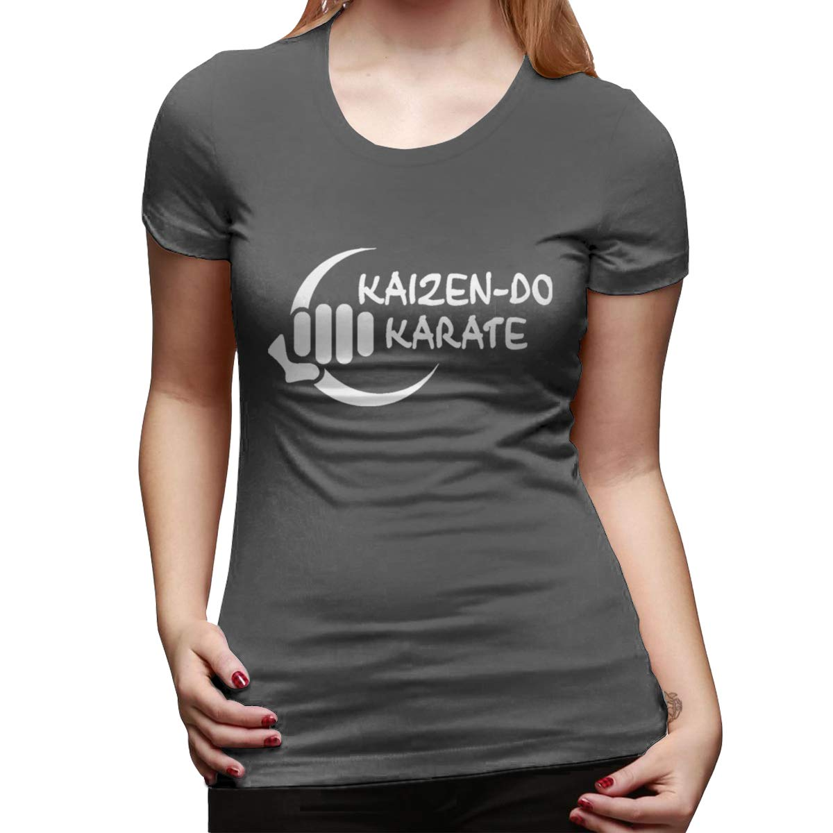 Gubarun Karate Logo Comfortable O Neck T Shirt 3082