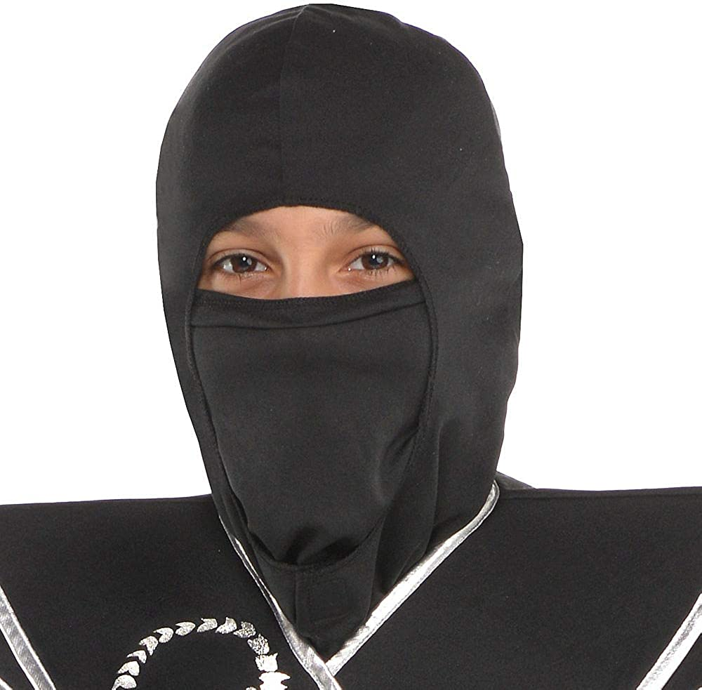 and More a Ninja Star Includes a Jumpsuit a Face Scarf Suit Yourself Black Ops Ninja Costume for Boys