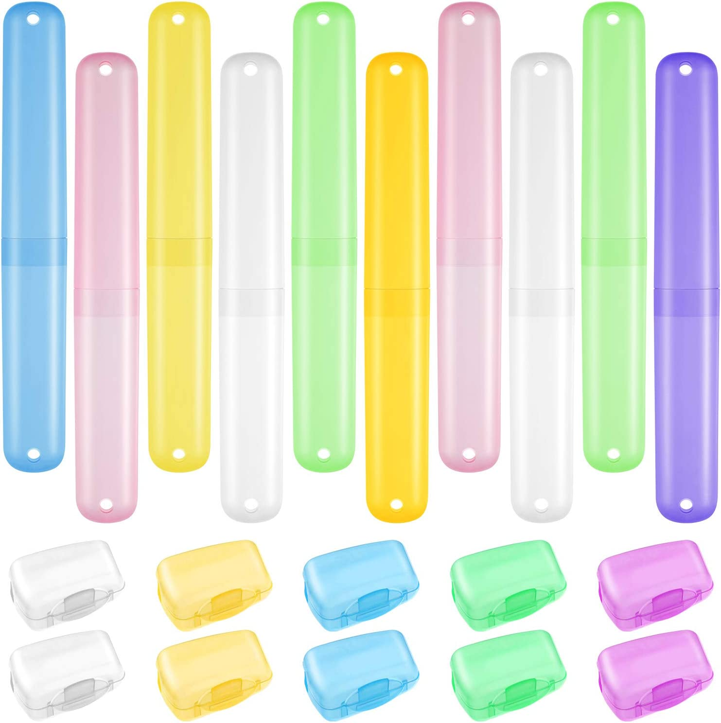 Multicolor Toothbrush Container Travel Accessories Organizer Case Household LI