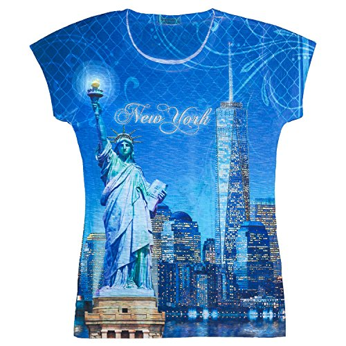 new york graphic tops for women - 7