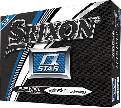 Srixon Q-Star 4 Golf Balls 2017 1 Dozen White