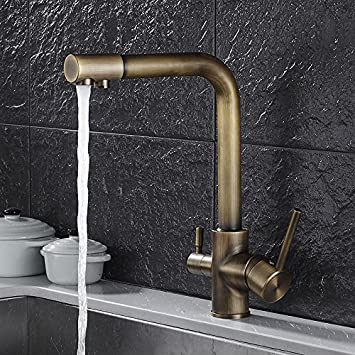 Lytor Kitchen Sink Faucet Profession Contemporary Solid Brass Hot And Cold Water Kitchen Sink Mixer Tap Sink Mixer Sink Faucet Kitchen Sink Tap Amazon Com