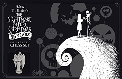chess tim burtons the nightmare before christmas 25th anniversary - Who Directed Nightmare Before Christmas