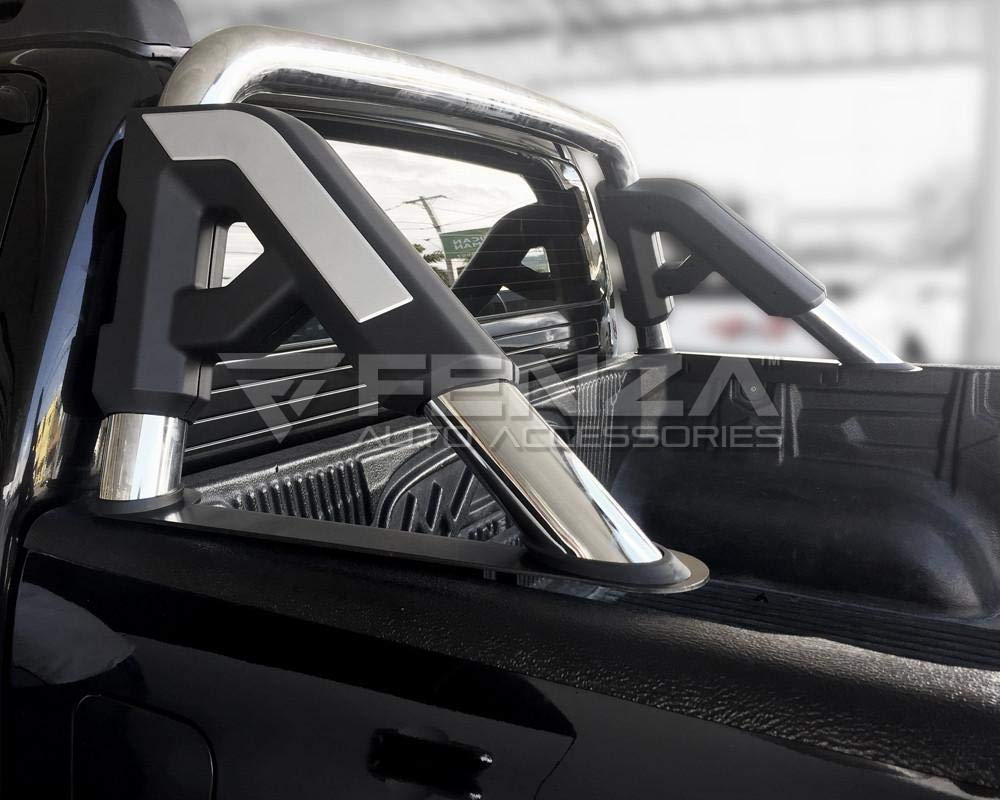 Roll Bar (Flat Base) for 2016-2019 Toyota Hilux by Fenza (Image #6)