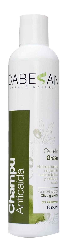 CABESAN Anticaida para Cabello Graso 0% Parabenos con extractos de plantas (500ml): Amazon.es: Belleza