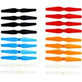 Coolplay® Colorful Main Blades Propellers Spare Parts for Syma X8 X8C X8W X8G X8 Series 2.4G RC Quadcopter- Upgraded 5 Color