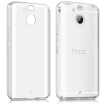 kwmobile Funda para HTC 10 EVO - Carcasa Protectora de [TPU] para móvil - Cover [Trasero] en [Transparente]