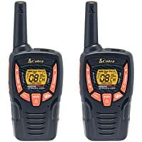 COBRA ACXT390 Walkie Talkies - Rechargeable, Long Range 23-Mile Two Way Radio Set with VOX (2 Pack)