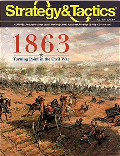 (DEC: Strategy & Tactics Issue #297, with 1863, Turning Point in the Civil War Board Game)