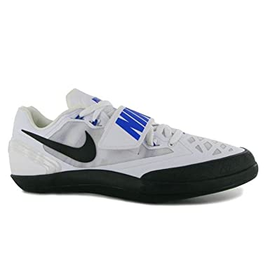 los angeles ad635 abb0f Nike Zoom Rotational Shot Hammer Discus Shoes Mens Size 9.5 (White, Blue,  Black