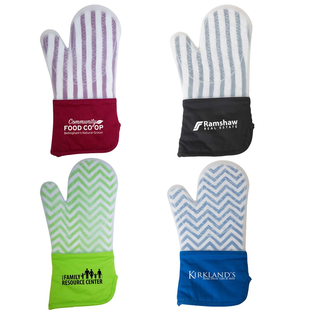 Silicone Oven Mitt - 50 Quantity - $8.70 Each - PROMOTIONAL PRODUCT / BULK / BRANDED with YOUR LOGO / CUSTOMIZED