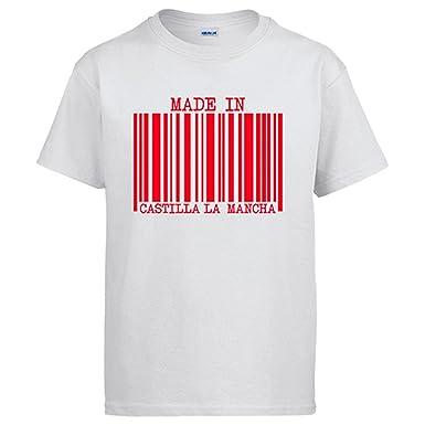 Camiseta Made in Castilla la Mancha: Amazon.es: Ropa y accesorios