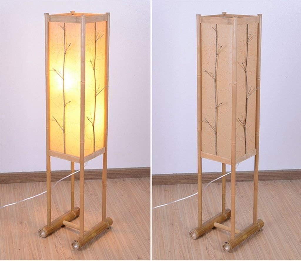 Lámpara de pie brillante Torchiere Piso Led rural Sala de estar ...