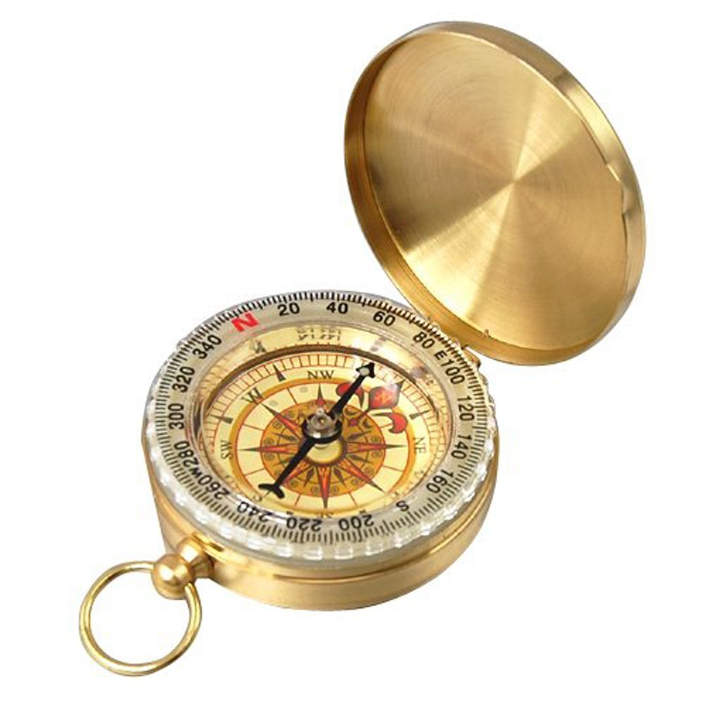 | PPbean Classic Pocket Style Camping Compass