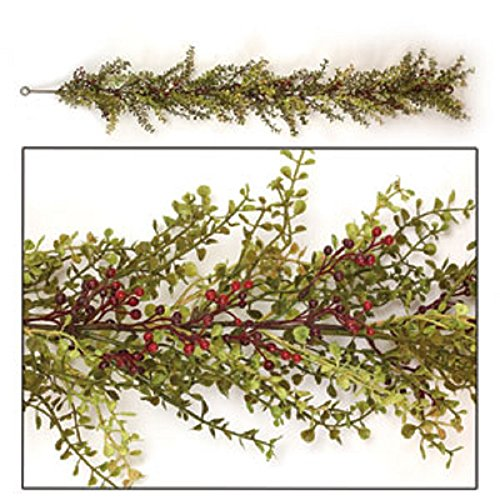 Baby's Grass with Berries Garland 48