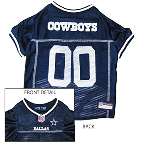Amazon.com  Pets First Official NFL Dallas Cowboys Jersey Large  Everything  Else 7af83ba5a