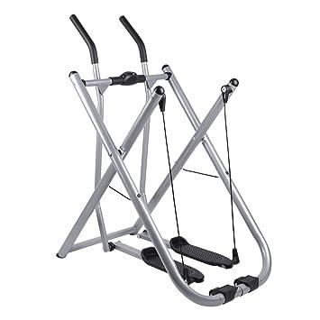 Homgrace Bicicleta elíptico plegable, crosswalker caminador entrenamiento en casa, peso de usuario hasta 100