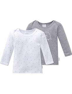 77175a121 Schiesser 2pack Baby Hosen Lang, Pantalones de Pijama Unisex bebé ...