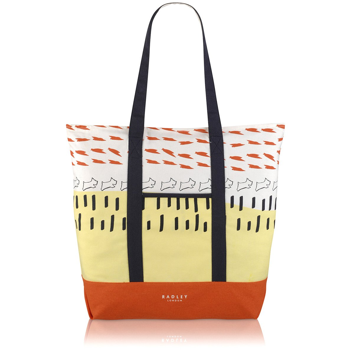 8f65cbbf6d8 Radley Love Me, Love My Dog Large Ziptop Tote Bag AW16 - LARGE, NATURAL   Amazon.co.uk  Shoes   Bags