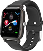 Smart Watch for iPhone Android, LCW Fitness Tracker Health Watch w/Heart