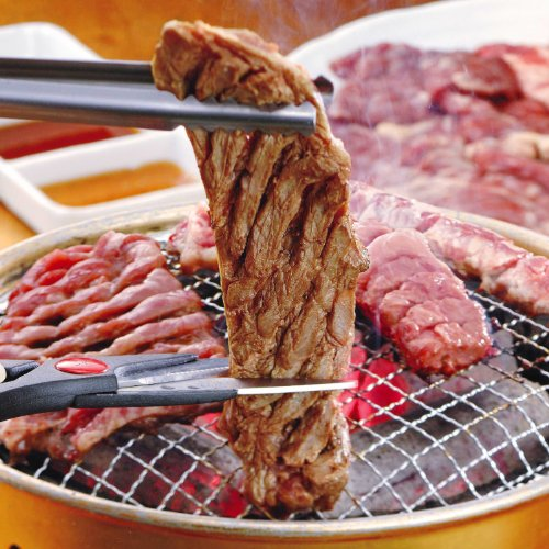 亀山社中 どっさり 焼肉セット(華咲きハラミ やわらかカルビ 1.8kg 肉切りハサミプレゼント中)