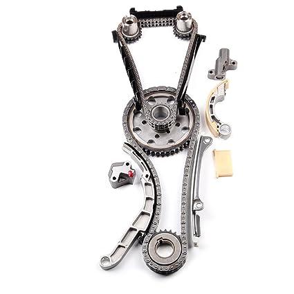 Amazon.com: ECCPP TKNS129A Timing Chain Kits fits for 2011 2012 Nissan Cabstar 2.5L 2488CC 152Cu.in.l4 Diesel DOHC Turbocharged: Automotive