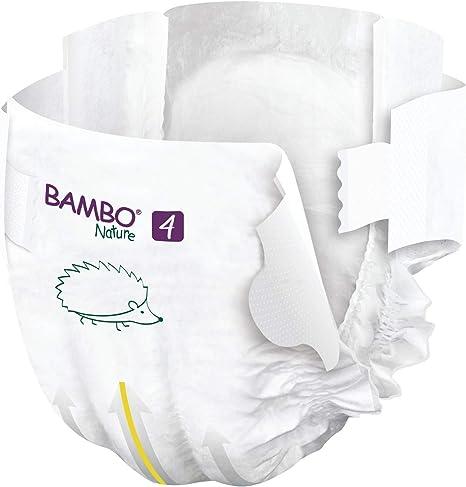 3 x Tall Pack of 52 9-18lb//4-8kg Bambo Nature Premium Eco Nappies Case Saver Midi Size 3