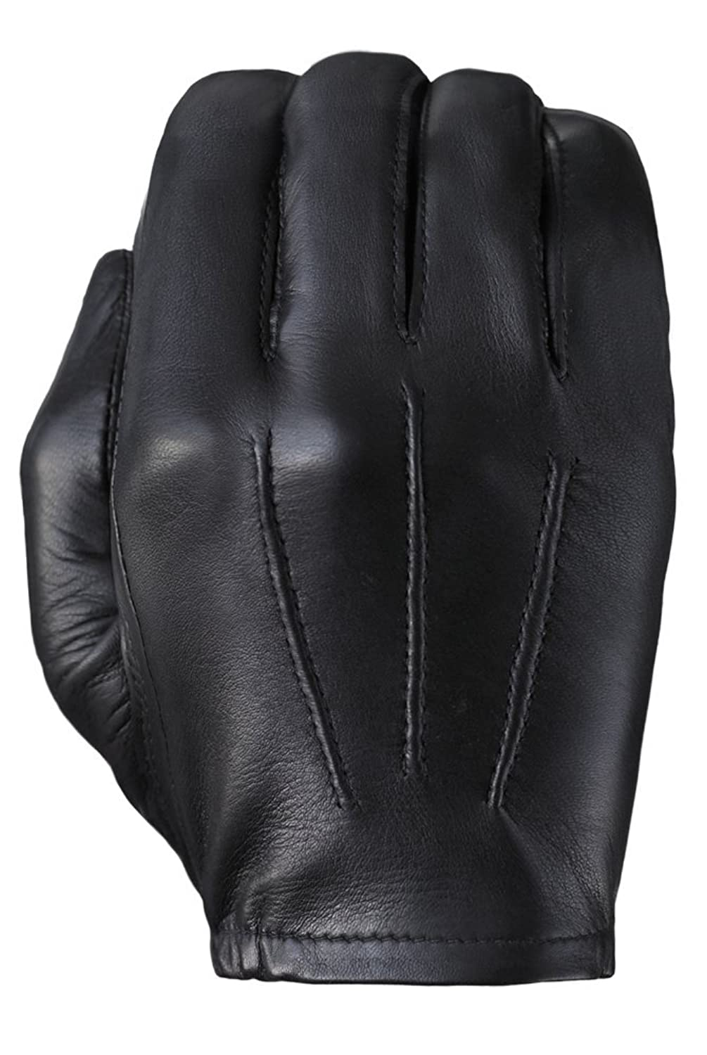Black leather uniform gloves - Tough Gloves Men S Ultra Thin Patrol Cabretta Unlined Leather Gloves Size 6 Color Black At Amazon Men S Clothing Store Cold Weather Gloves