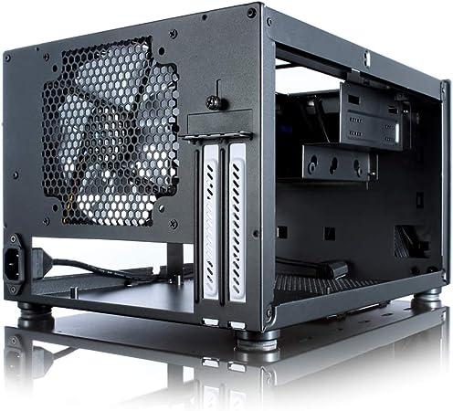 Fractal Design Core 500 - Caja de Ordenador (Cubo, PC, Fondo, Mini-ITX, Unidad de Disco Duro, Poder, Negro): Amazon.es: Informática