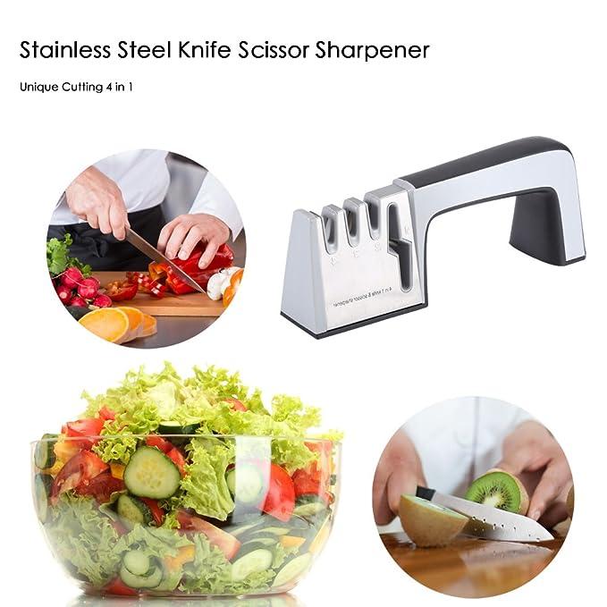 Amazon.com: BISOZER professional knife sharpener, Kitchen ...