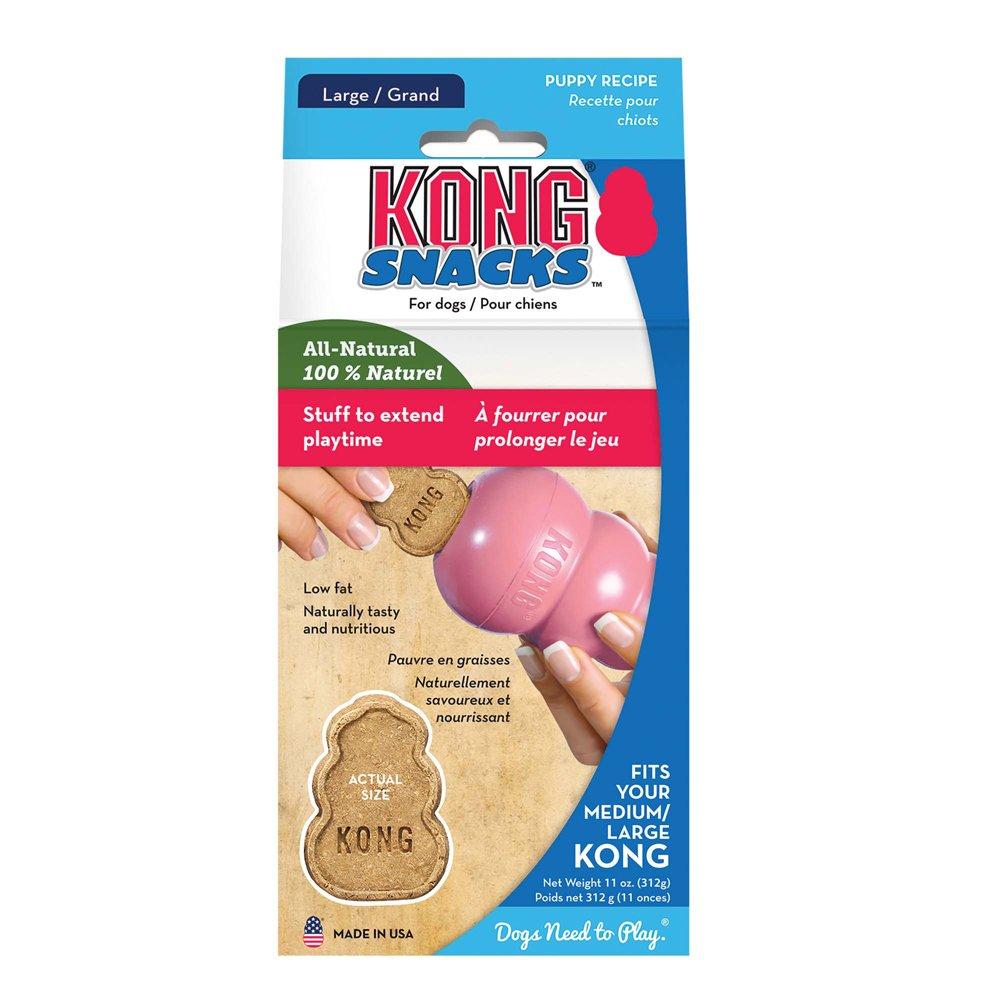 Kong - Nourriture pour Chien - Snacks Puppy - Poulet & Riz - Grand Paquet KONG COMPANY XY1