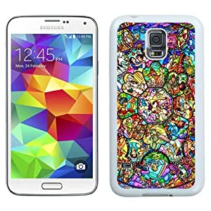 Great Quality Samsung Galaxy S5 I9600 Case ,Beautiful And Unique Designed Case With All Character Disney White Samsung Galaxy S5 Cover Phone Case