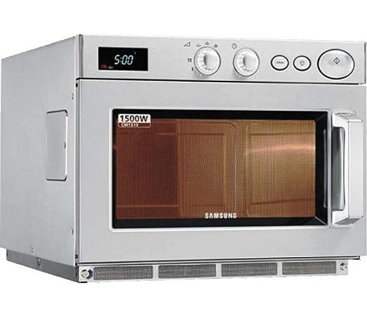 Microondas uso intensivo Samsung 1500 W Plato Fijo Modelo ...