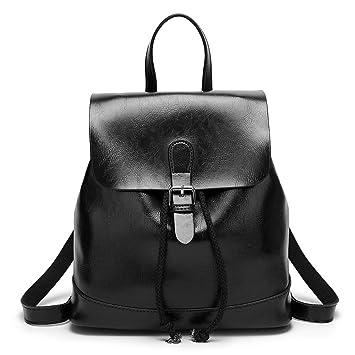 3a87718d83f Black Womens Backpack Purse Mini Leather Backpack Small Womens Backpack  Handbags For Women Stylish Rucksack Purse