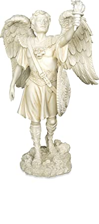 AngelStar Archangel Uriel Angel Figurine, 9-1 2-Inch Tall