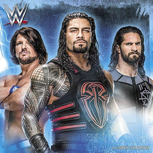 WWE Wall Calendar (2019)