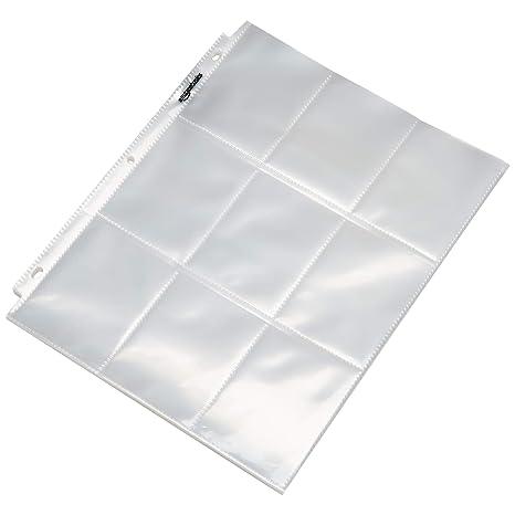 Amazon.com: AmazonBasics - Protector de tarjetas de bolsillo ...