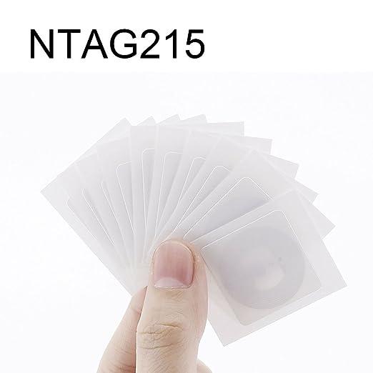 AHongem NTAG215 NFC - Etiqueta de tarjeta tipo 2 para TagMo ...