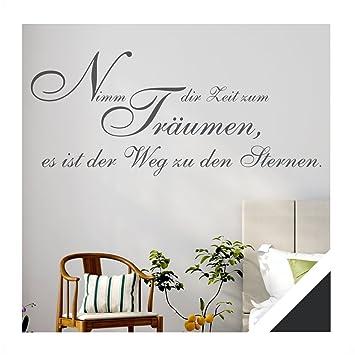 Wandtattoo Zitat Spruch Nimm Dir Zeit Zum Träumen Inkl
