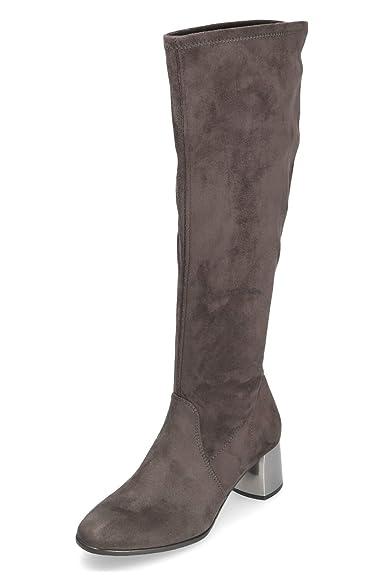 Tamaris Damen Stretch Stiefeletten Schwarz Gr. 37: Schuhe