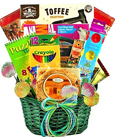 Christmas Gift Baskets For Kids.Ho Ho Ho Christmas Gift Basket For Kids Amazon Com