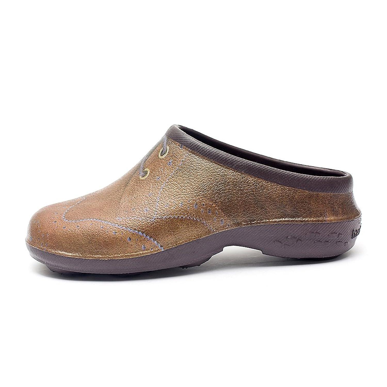 Men's Waterproof Premium Garden Shoes With Arch Support-Brogue Design