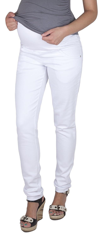 Mija – Elegant Maternity Slim Jeans Denim Trousers Pants 9044