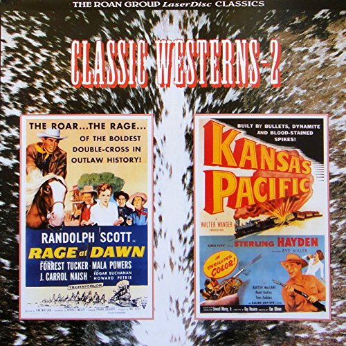 Rage At Dawn/Kansas Pacific: Classic Westerns-2 (LASERDISC) ()