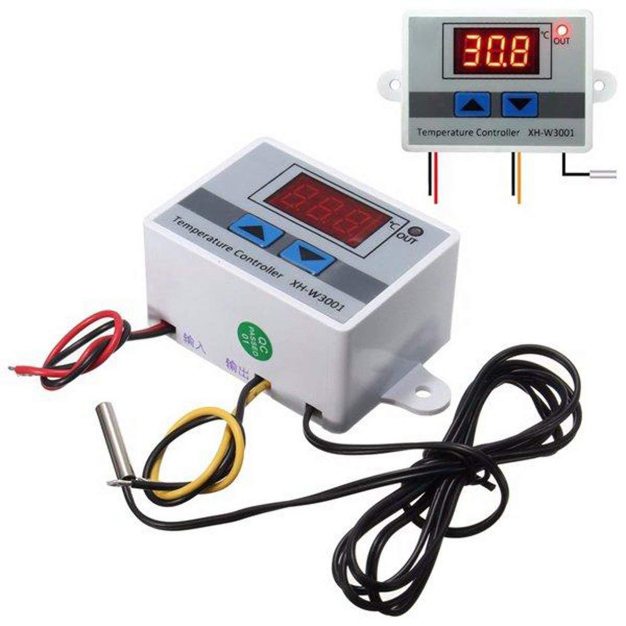 XH-W3001 220V 10A Regolatori di Temperatura Digitali LED con Sonda Termostato